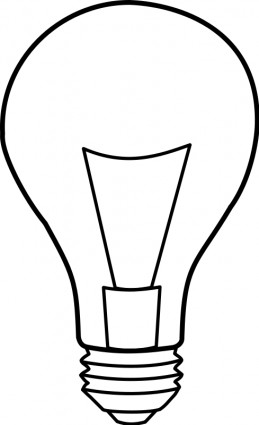 259x425 Light Bulb Drawing Clipart Panda