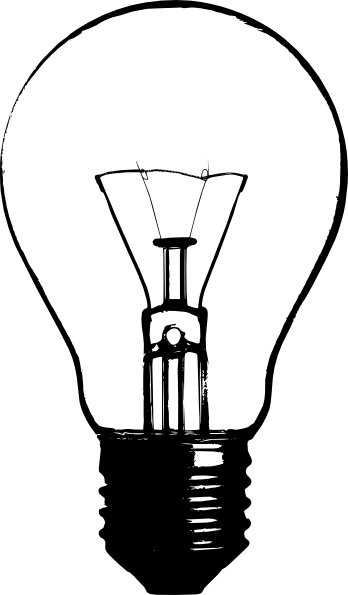 348x595 Light Bulb Logo Ideas Lightbulb, Stenciling