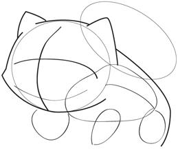 259x222 How To Draw Bulbasaur
