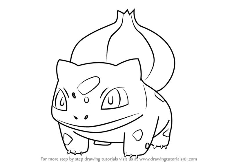 800x566 Learn How To Draw Bulbasaur From Pokemon Go (Pokemon Go) Step By