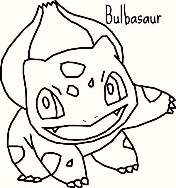 600x641 Bulbasaur Base By Cutespeon