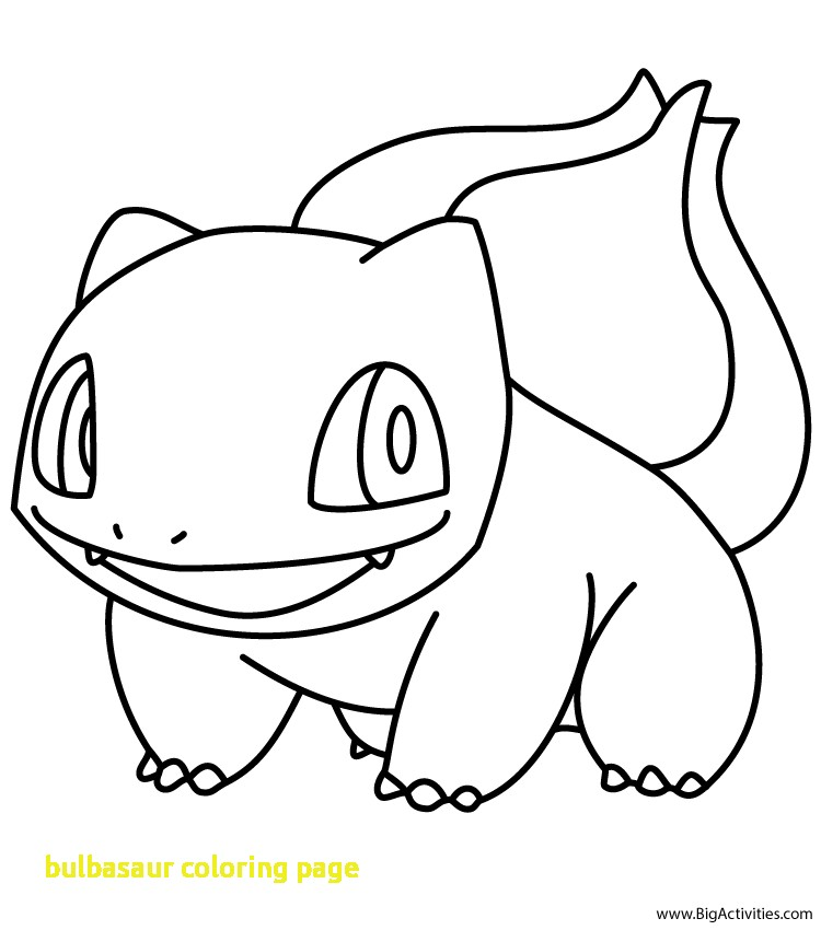 750x850 Bulbasaur Coloring Page Coloringpageforkids.co