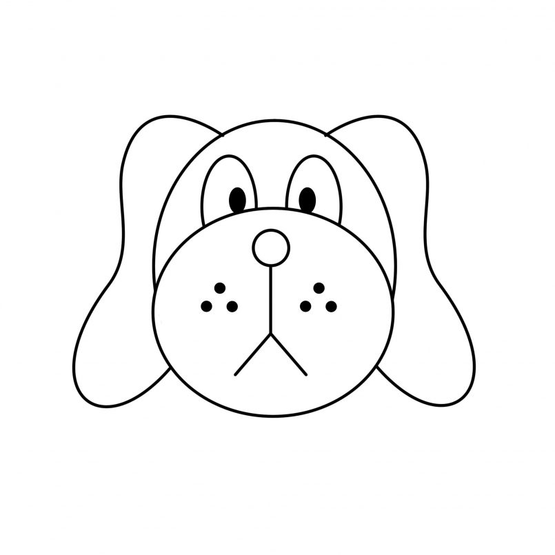 805x805 Drawing Good Easy Dog Drawings Together With Cute And Easy Dog