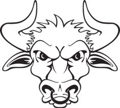 236x213 Drawn Bull Face
