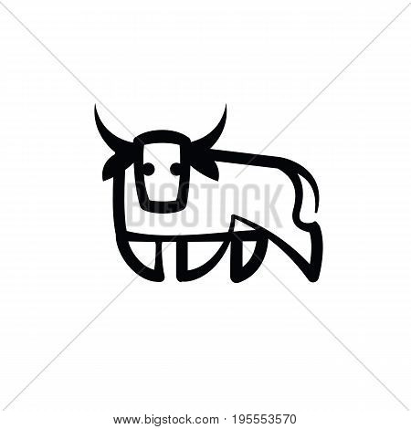 450x470 Bull Drawing Images, Illustrations, Vectors