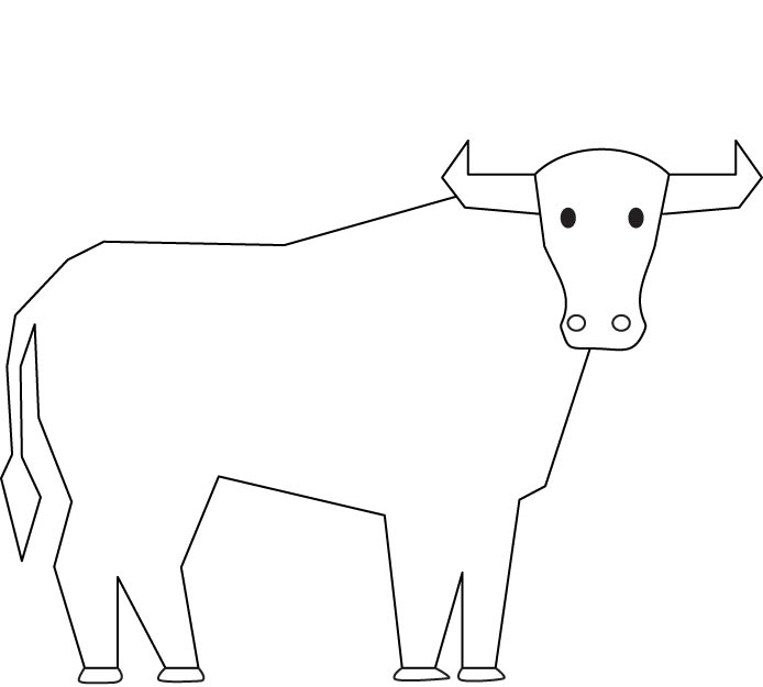 694x625 Bull Coloring Page Download Free Bull Coloring Page For Kids