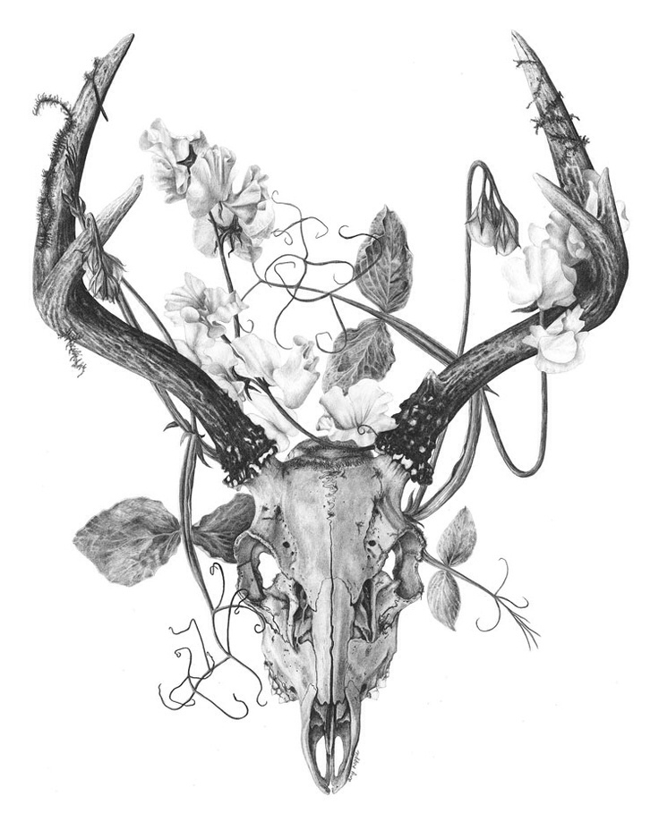 736x928 Memorial Tattoo Inspiration But An Elk With Roses Still