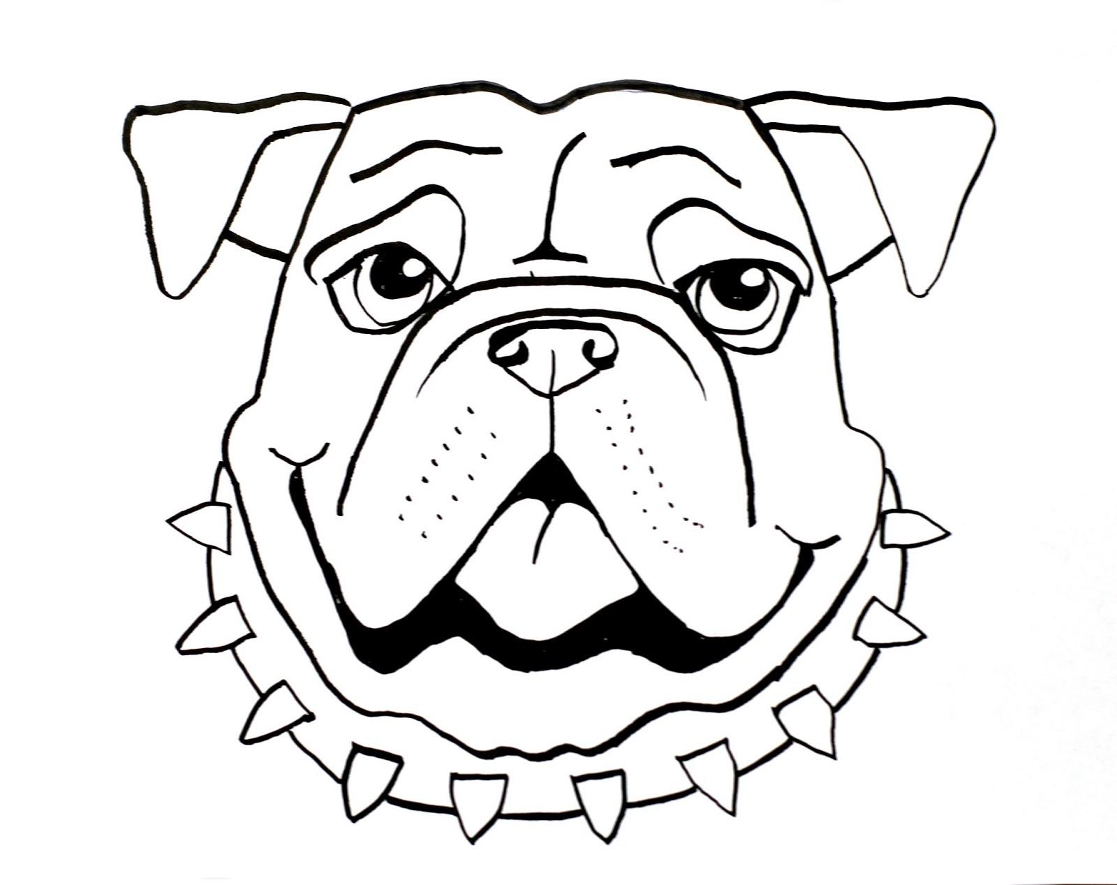 1600x1267 Smart Class Bull Dog Draw A Long