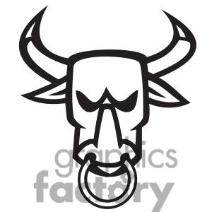 300x300 Bull Clipart Face