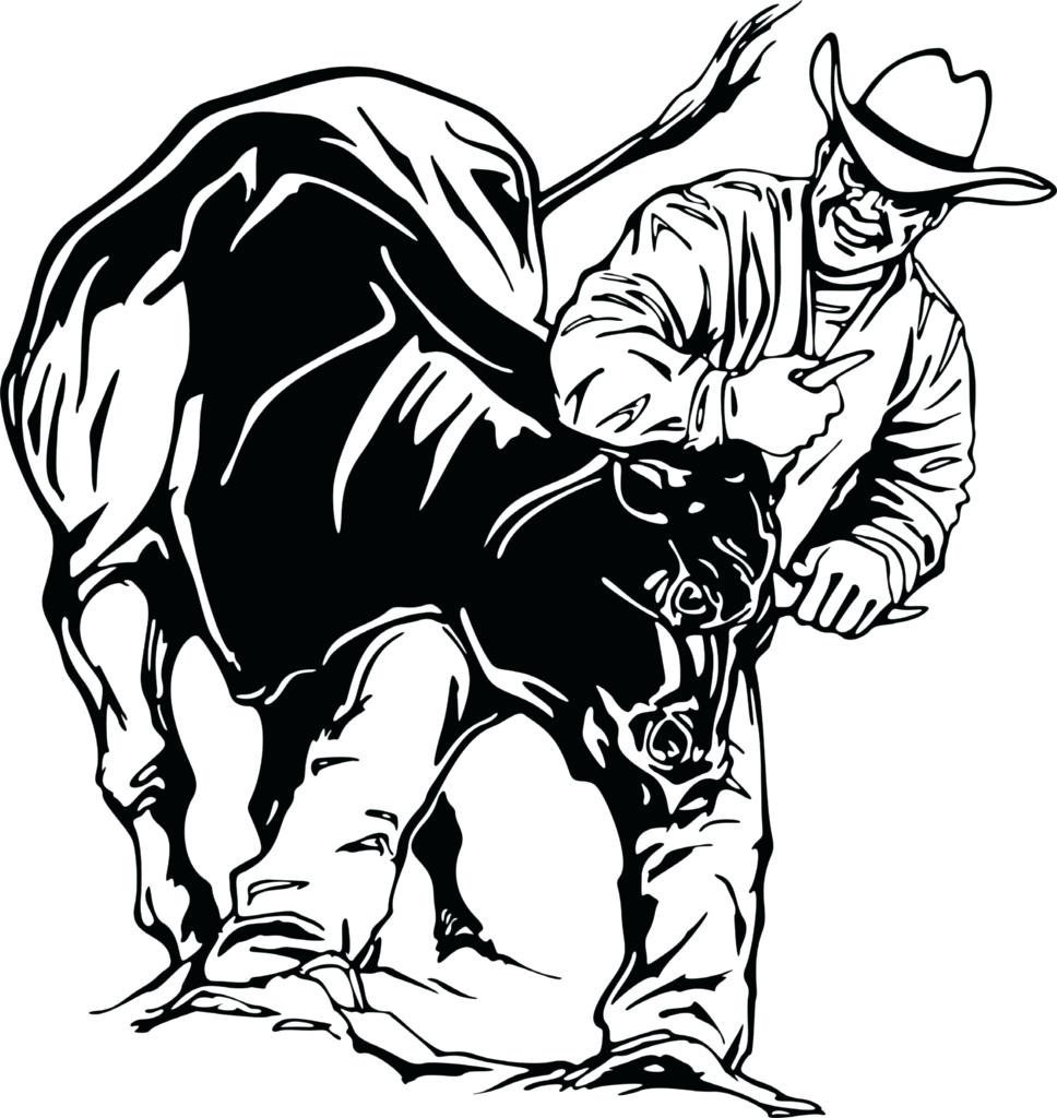 968x1024 Coloring Bull Riding Coloring Pages