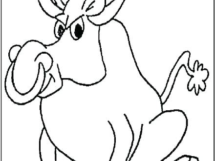 440x330 Bull Coloring Page Bull Coloring Page Bull Coloring Page Bull
