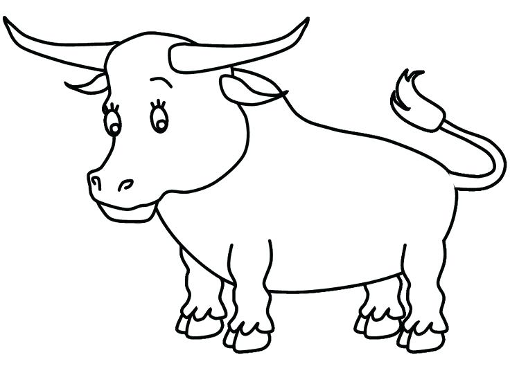 736x552 Bull Riding Coloring Pages Bull Cowboy Riding A Bull Coloring