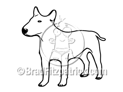 432x324 Pit Bull Terrier Clip Art Royalty Free Bull Terrier Clip Art