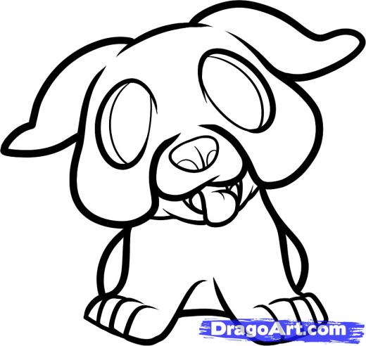 520x492 Concept Design Home Cute Bulldog Drawing Images