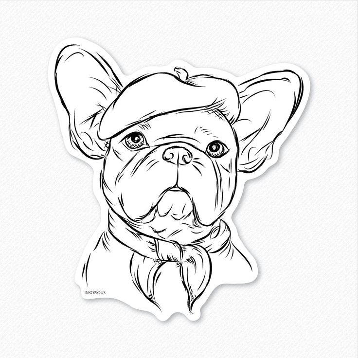 736x736 Pictures French Bulldog Drawing,