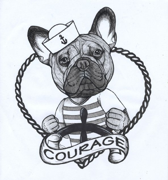 591x633 The Best Bulldog Drawing Ideas On English Bulldog