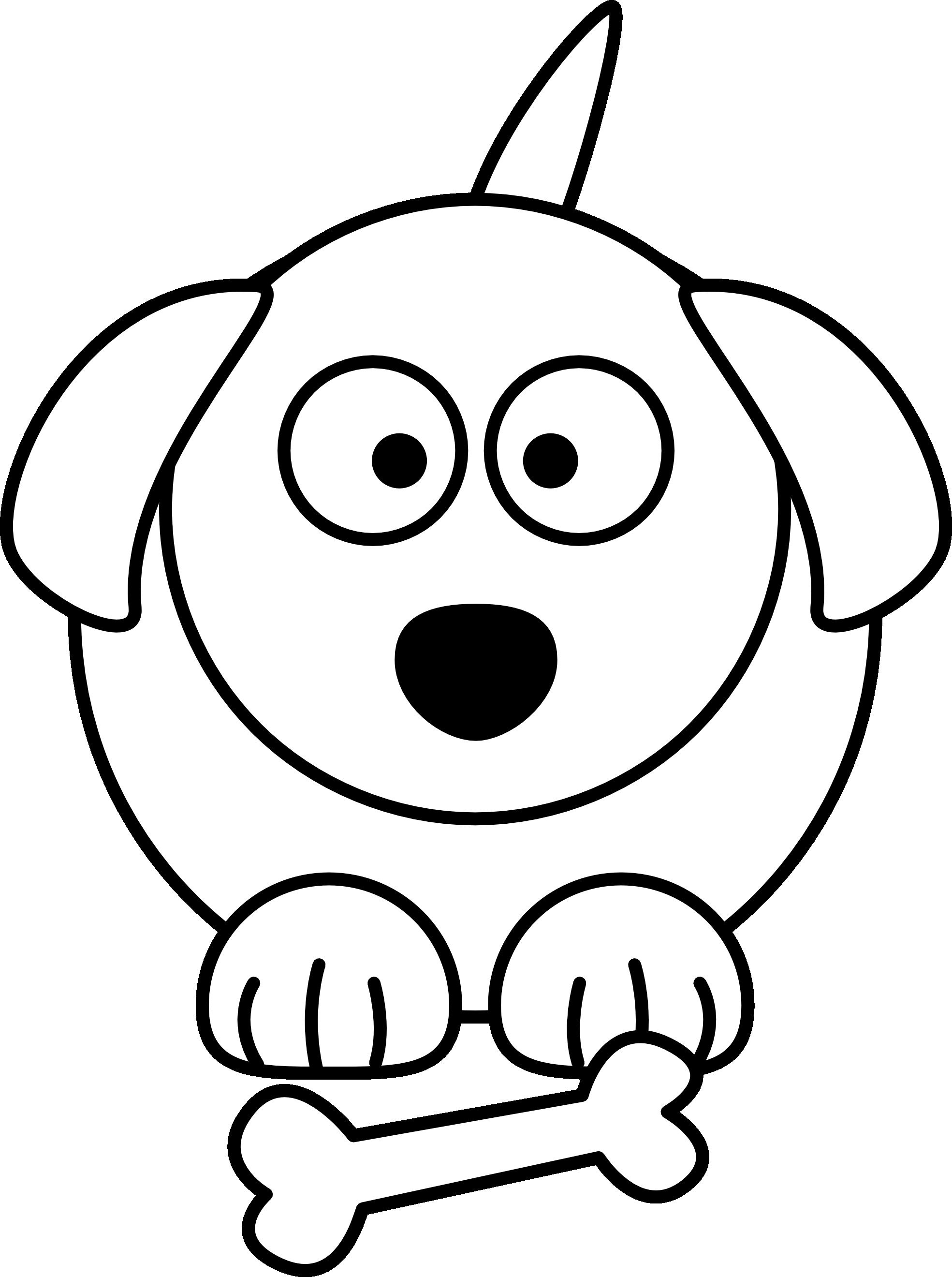 1969x2640 Puppy Drawing Free Draw To Color