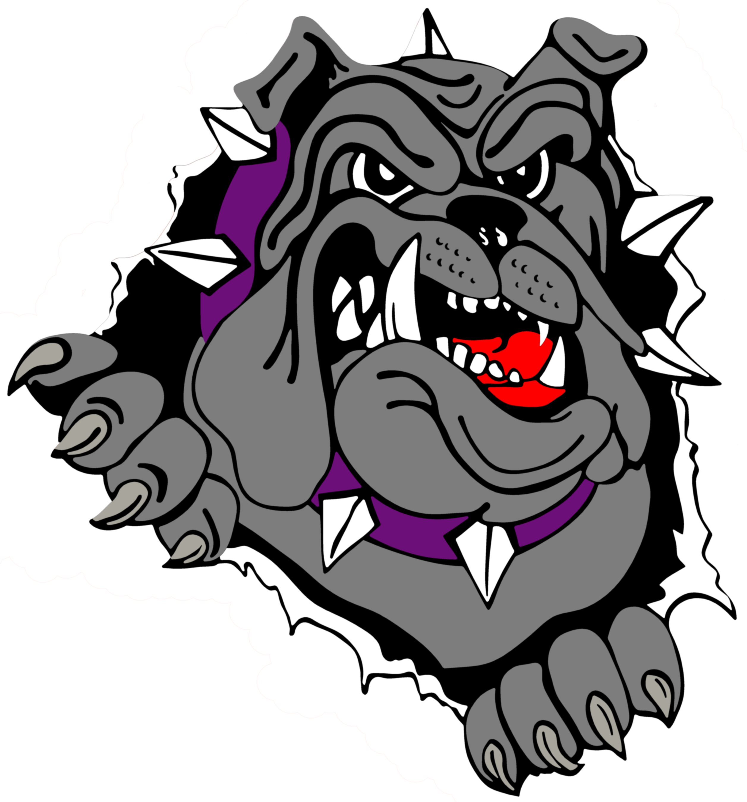 2513x2700 Drawn Bulldog Cool Logo