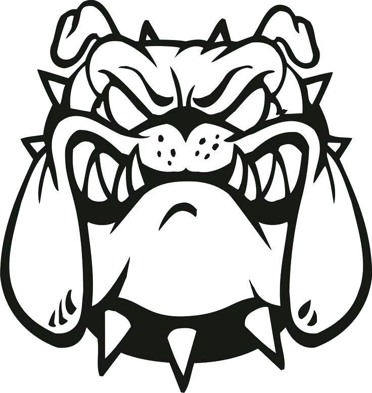 736x777 Georgia Bulldogs Coloring Pages New French Bulldog Coloring Pages