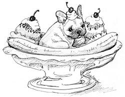 250x194 French Bulldog Art Still A Dreamer