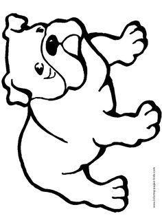 236x314 Line Drawing Of Bulldog