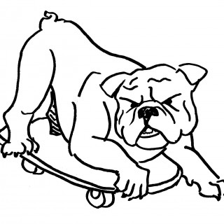 320x320 Tag For How To Draw A Bulldog Drawing Plants With Simple Forms