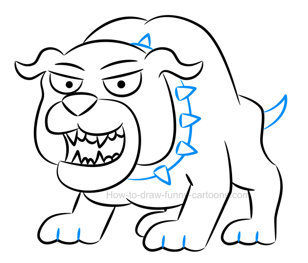 600x512 To Create An Illustration Of A Bulldog