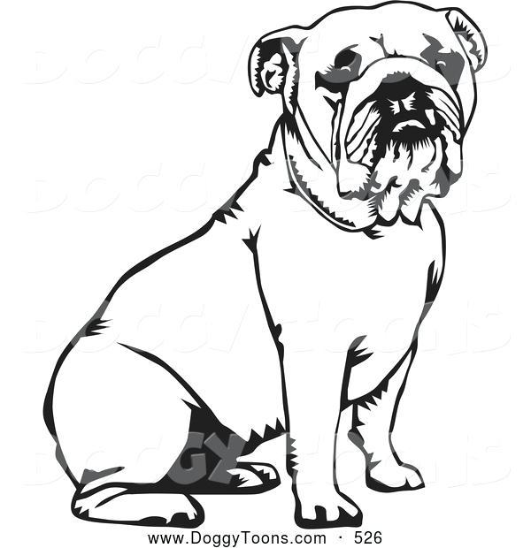 600x620 Magnificent Extraordinary Georgia Bulldog Coloring Pages Print