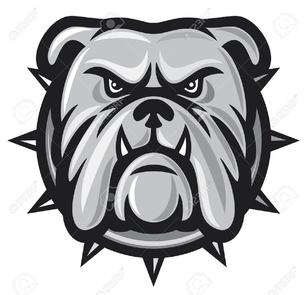 1300x1249 Cartoon Bulldog Face Collection