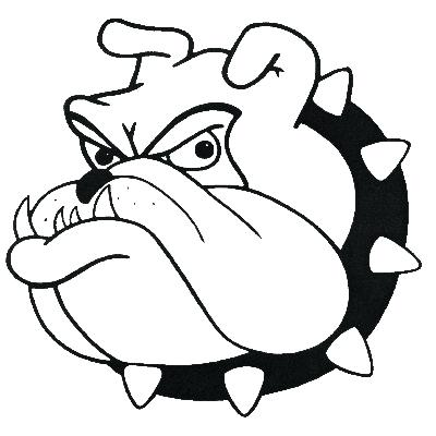 400x400 Bulldog Mascot Clipart Bulldog Drawings Mascot Car Pictures