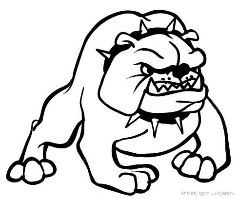 Bulldogs Cartoon Drawing At Getdrawings Com Free For Personal Use
