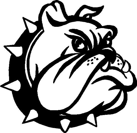 544x526 English Bulldog Clipart