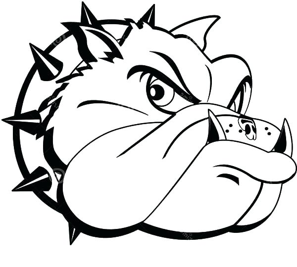 600x540 Georgia Bulldogs Coloring Pages New French Bulldog Coloring Pages