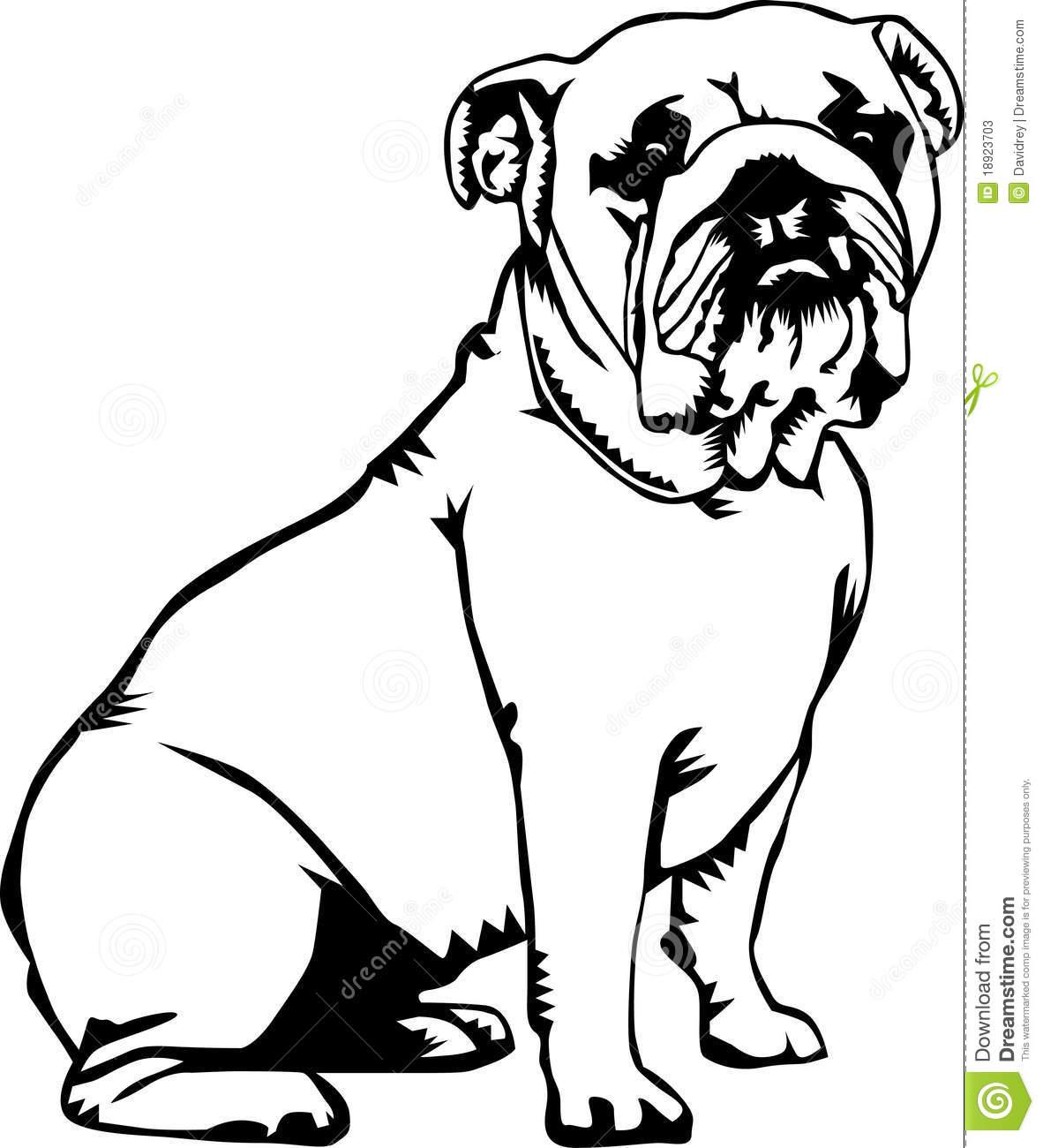 1182x1300 Bulldog Clipart Black And White