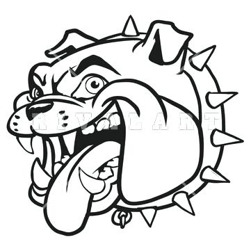 361x361 Bulldog Mascot Clipart Bulldog Drawings Mascot Car Pictures