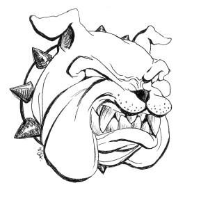 289x289 Bulldog Puppy Drawing Clipart Panda