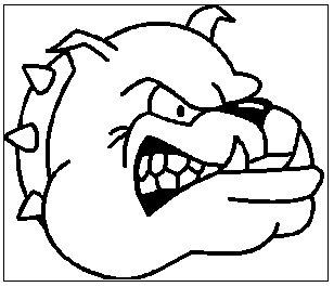 308x265 Bulldog Drawings Free Clipart