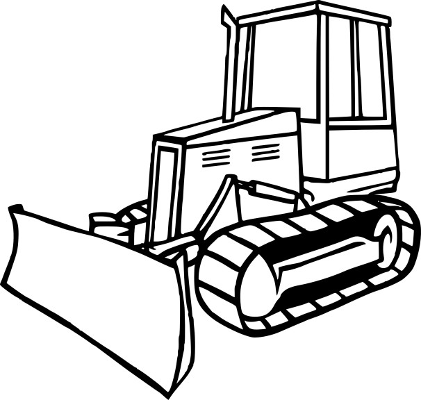 606x576 Bulldozer Mecanic Shovel