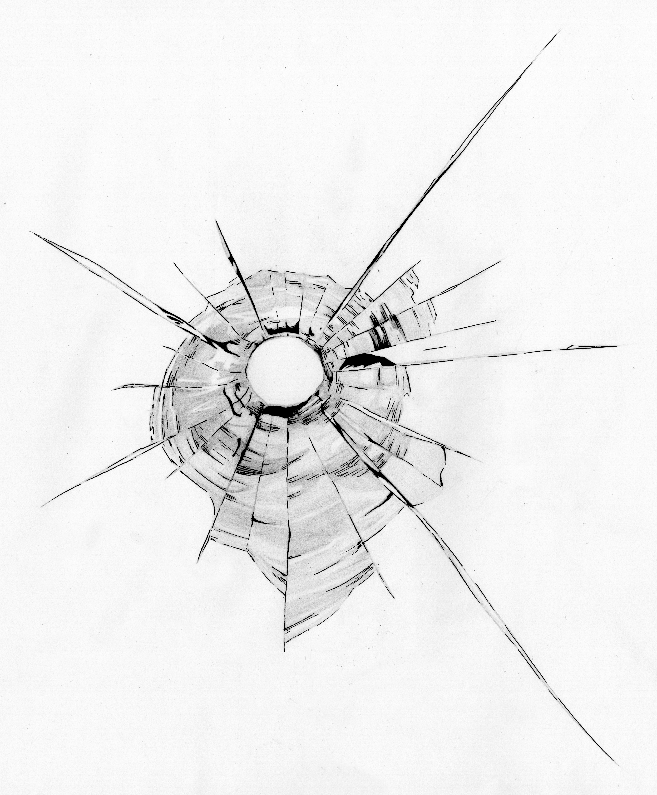 2761x3344 Bullets And Bullet Holes Artwork Of Alex Stephen