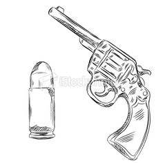 236x236 How To Draw A Bullet Clipart Of A Silver Bullet