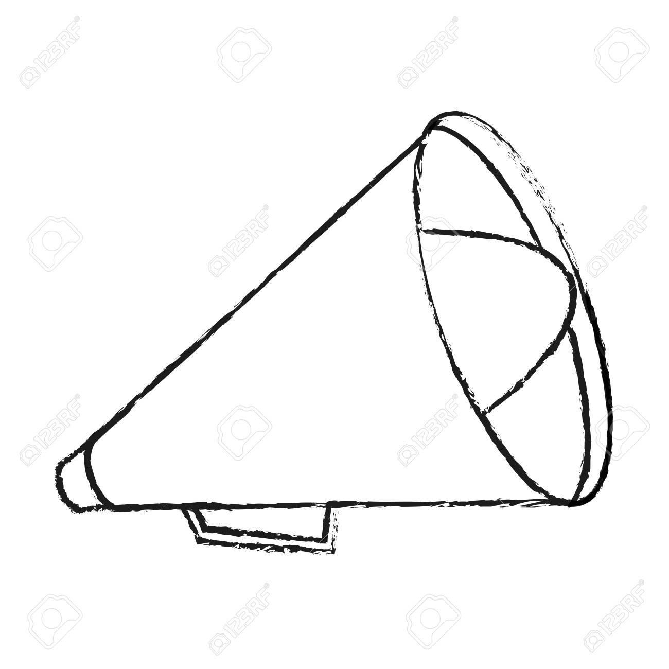 1300x1300 Megaphone Icon. Amplifer Speaker Bullhorn And Announce Theme