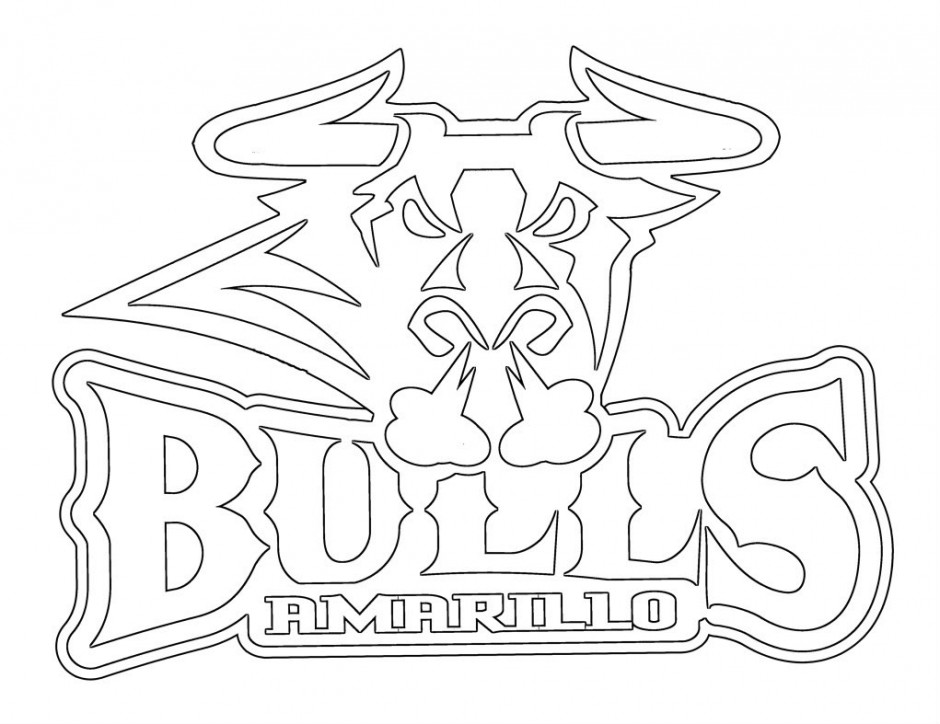 Bulls Logo Drawing