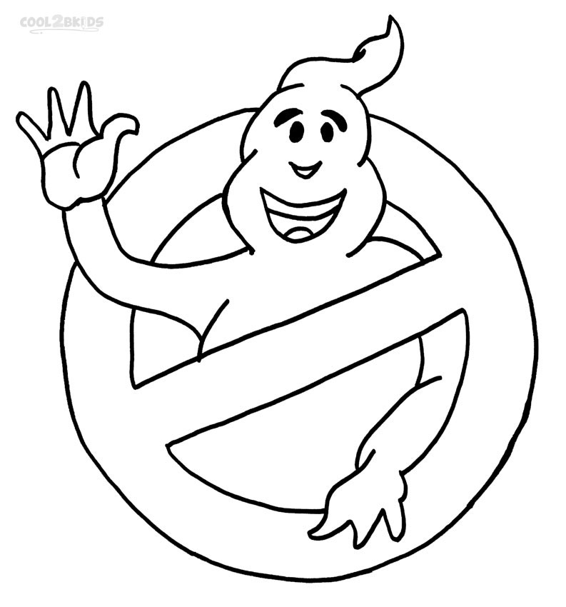 793x850 Printable Ghostbusters Coloring Pages For Kids Cool2bkids