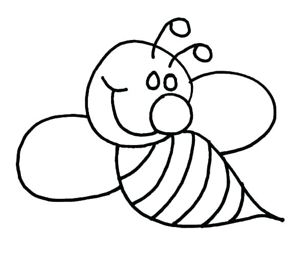 600x521 Bumble Bee Coloring Pages 16 Packed With Color Bumble Bee Coloring