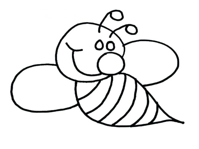 Line Art Bee : Bumble bees drawing at getdrawings free for personal use