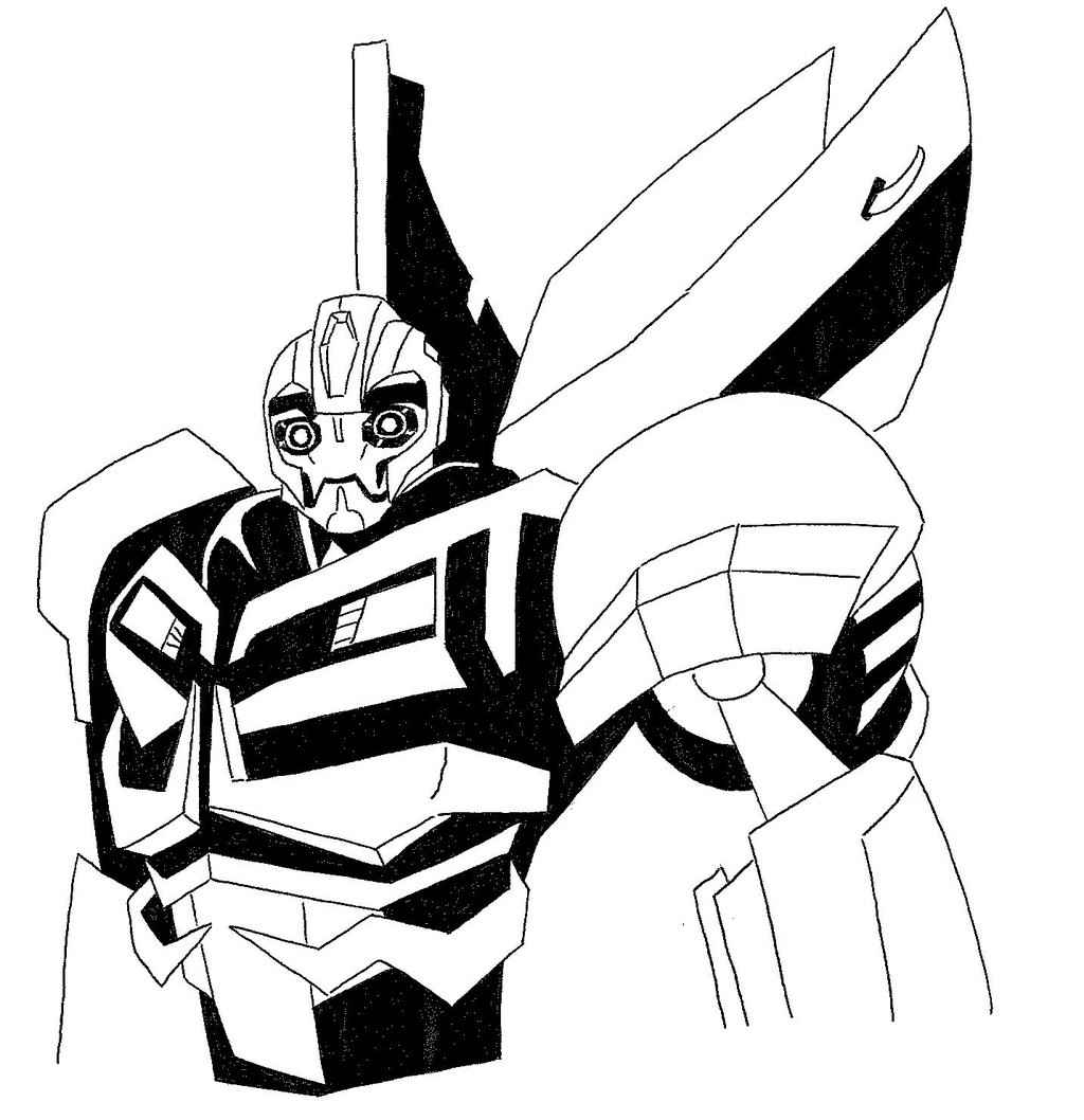 Bumblebee Drawing At Getdrawingscom Free For Personal Use - Coloring-pages-of-bumble-bees