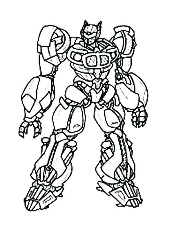 600x777 Transformers Bumblebee Coloring Page Transformers Bumblebee