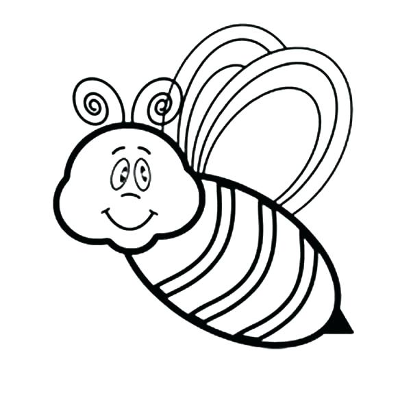 600x600 Honey Beehive Coloring Page Appealing Bumble Bee Bumblebee