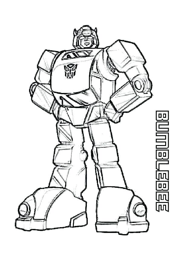 595x842 Bumblebee Transformer Coloring Pages Amazing Bumblebee
