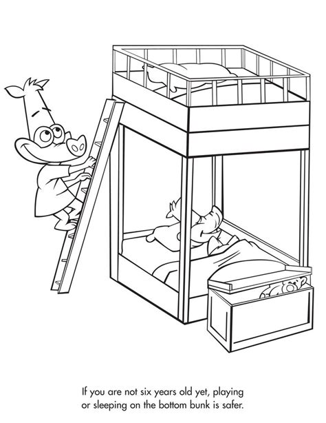 474x614 Bunk Beds Sketch